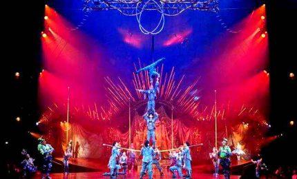 Spettacoli del Cirque du Soleil ora si vedono da casa