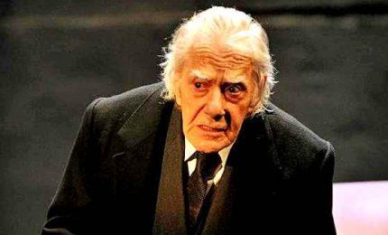Gianrico Tedeschi compie cento anni, una vita sul palcoscenico