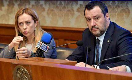"""Conte attacca Salvini e Meloni: su Mes dicono falsità. I leader: """"Roba da Unione Sovietica""""."""