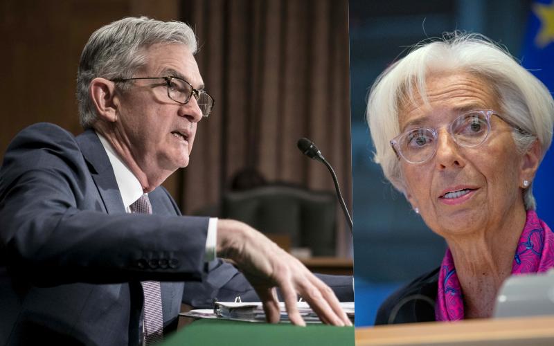 Tornano in scena Federal Reserve e Bce su crisi pandemica