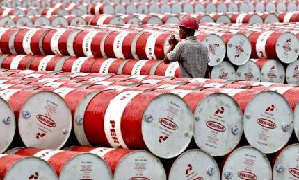 Storico collasso Wti, -94% e barile petrolio costa 1 dollaro