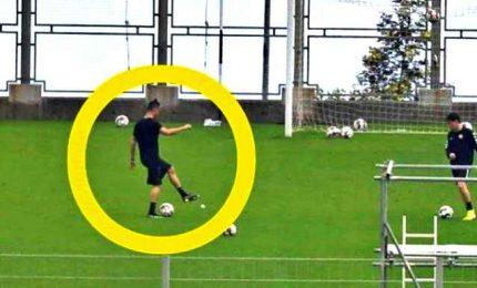 Cristiano Ronaldo si allena nello stadio di Maderia, è polemica
