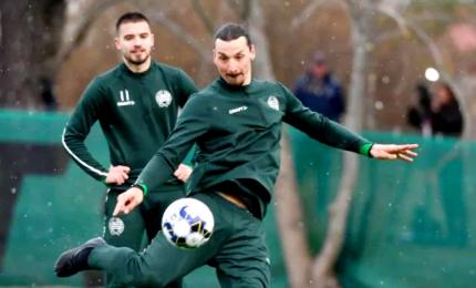 Ibrahimovic torna ad allenarsi, in Svezia con l'Hammarby