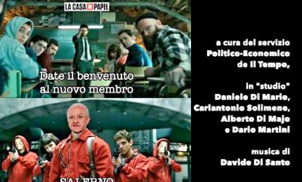 La supergaffe di Conte, Merkel aiuta Salvini, De Luca sceriffo della pastiera. Il Superpodio di Pasqua!