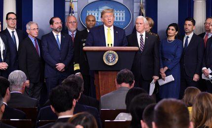 """Conferenze stampa """"show"""" e Presidenziali, il Coronavirus ai tempi di Trump"""
