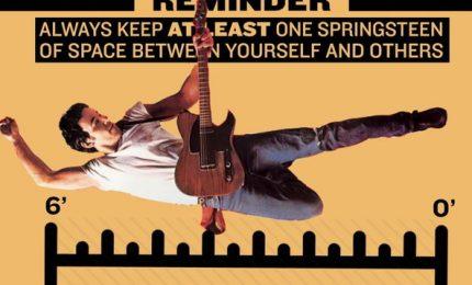 """Distanziamento sociale, nel New Jersey è di """"uno Springsteen"""""""