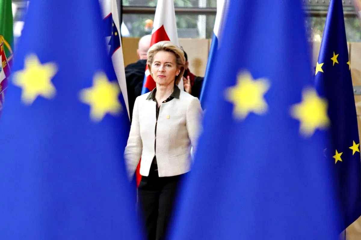 Von der Leyen chiederà all'Europarlamento taglio gas serra al 55% nel 2030