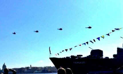 In Russia show nei cieli di San Pietroburgo per il Victory Day