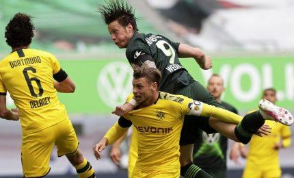 Bundesliga, Borussia Dortmund vince ed è a -1 dal Bayern