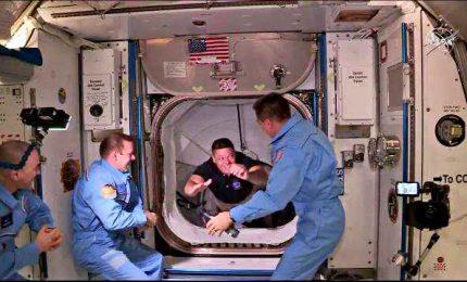Astronauti Crew Dragon già a bordo della Stazione Spaziale