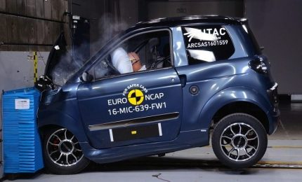 Sinaptica propone crash test virtuale per microcar