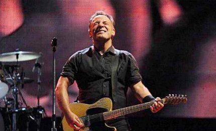 Springsteen, concerto in streaming in un Fenway Park deserto