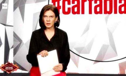 Virginia Raffaele diventa una contrariata Bianca Berlinguer