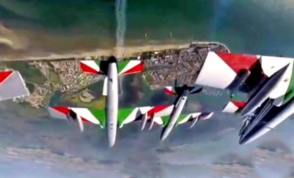 Apertura stagione delle Frecce Tricolori è virtuale