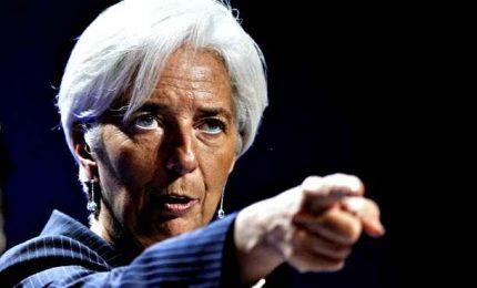 Lagarde rilancia l'impegno a sostenere l'economia, giù tassi Btp