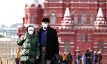 Nuovo record di contagi in Russia, 10.633 in 24 ore