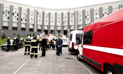 Incendio in ospedale Covid a San Pietroburgo: 5 morti