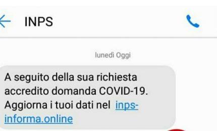 Allarme Inps su tentativi truffa con phishing su bonus 600 euro