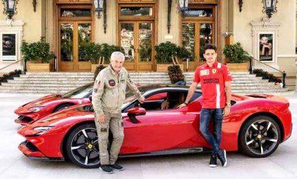 Leclerc a Monaco protagonista di un video nel giorno del Gp