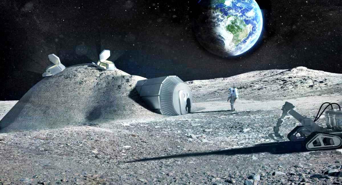 Esa, costruire una base lunare con l'urina degli astronauti