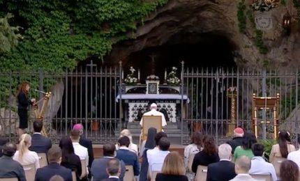 Il rosario del Papa con i Santuari contro la pandemia coronavirus