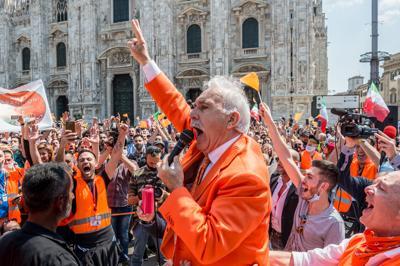 Pappalardo: gilet arancioni in campo a elezioni, Conte va arrestato