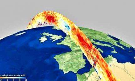 """I dati del satellite Esa """"Aeolus"""" disponibili al pubblico"""