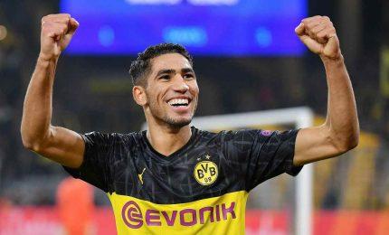 L'Inter chiude per Achraf Hakimi, esterno del Dortmund