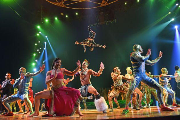 Il Cirque de Soleil dichiara bancarotta spazzato via dal Covid