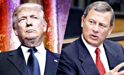 "Immigrazione, l'emozione di Roberts sul DACA ""tradisce"" Trump"