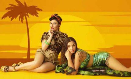 Giusy Ferreri e Elettra Lamborghini scaldano l'estate con La Isla