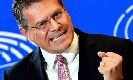 Sefcovic: vertice Ue spianerà la strada per accordo a luglio