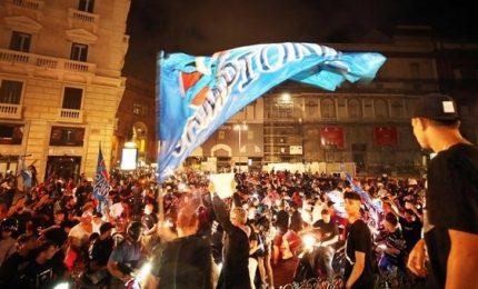 Benevento come Napoli, in festa per la A dimenticandosi del Covid