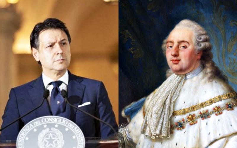 Gli Stati Generali, da Luigi XVI a Giuseppe Conte
