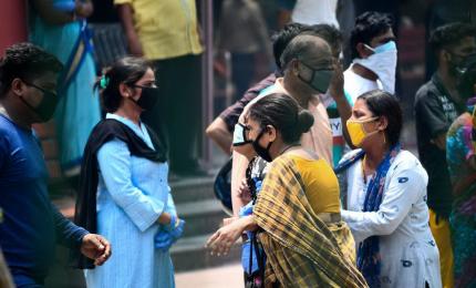 Coronavirus, oltre 11.000 casi e circa 9mila morti in India