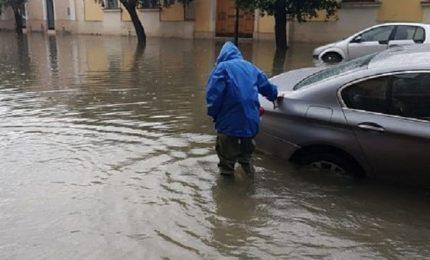 Maltempo, allagamenti e frane nel Bolognese per forti temporali