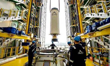 L'Italia torna in orbita con la missione VV16 del Vega