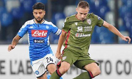 Colpi di Napoli e Cagliari, battute Verona e Spal
