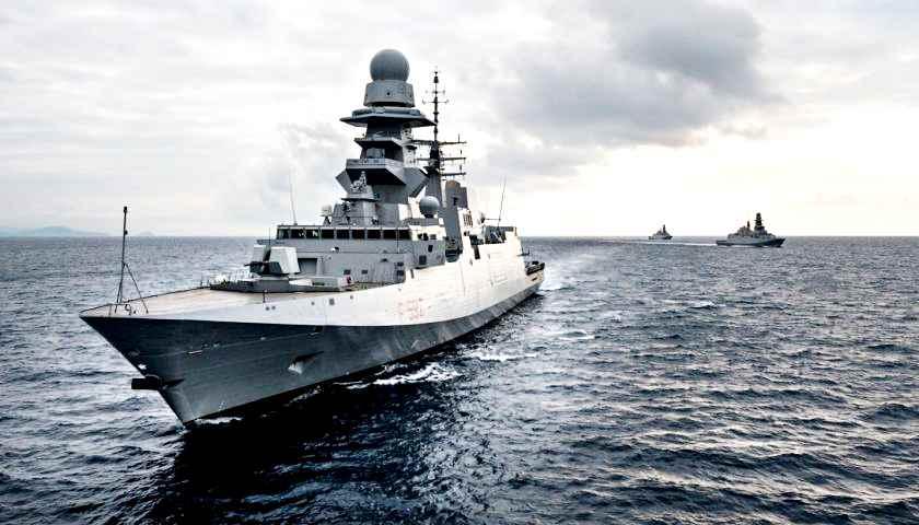 Due fregate all'Egitto? Serve passaggio in Parlamento