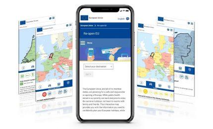Re-open EU, ecco l'app europea post lockdown per chi viaggia