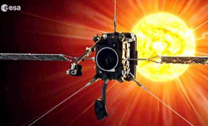 Primo incontro ravvicinato tra la Solar Orbiter e il Sole