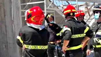 Precipitano da venti metri, morti due operai a Roma
