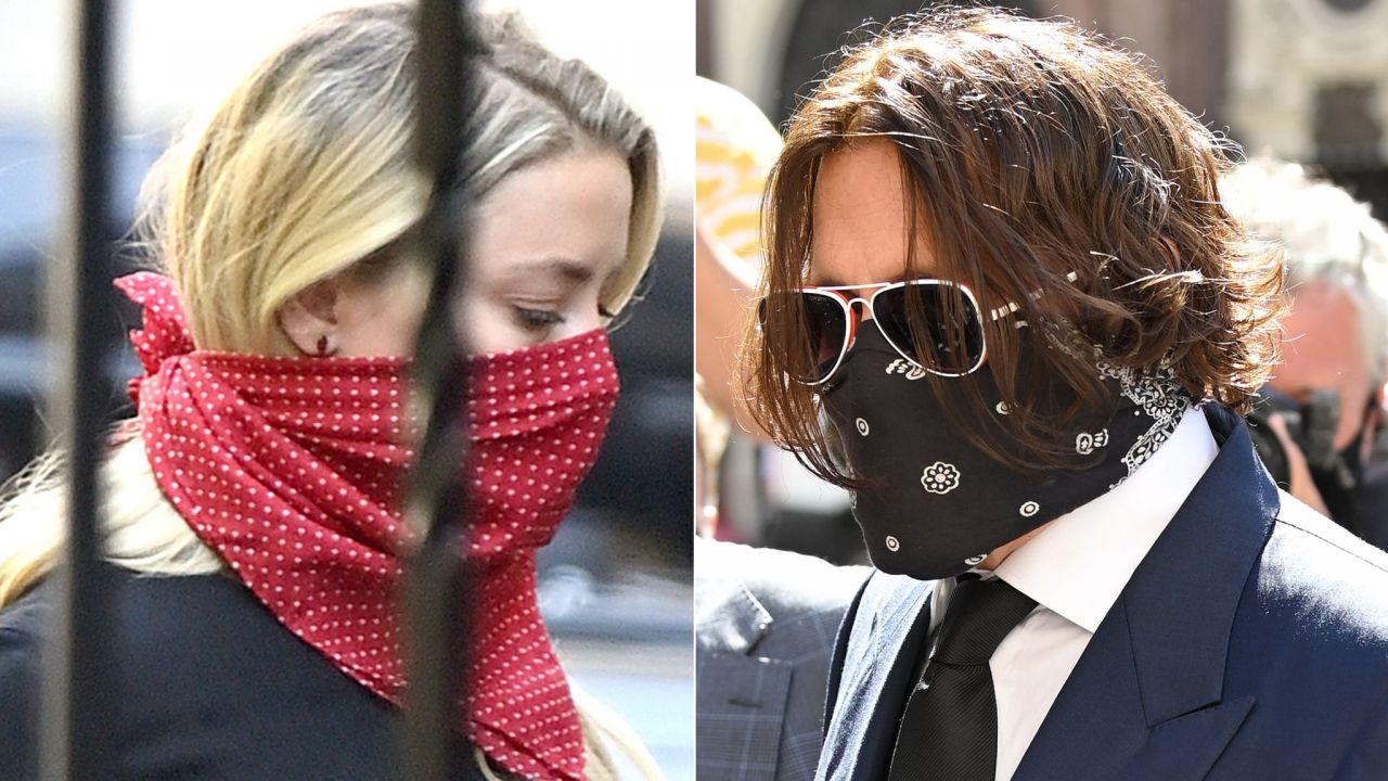 """Depp si difende in tribunale: """"Mai colpita Amber Heard"""""""