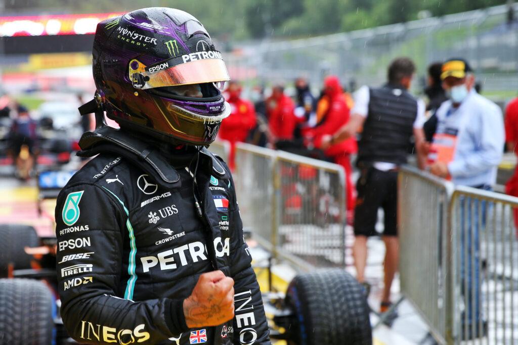 Hamilton in pole, Vettel quinto e Leclerc sesto