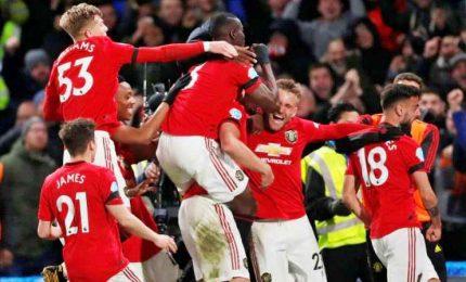 Premier League, Manchester Utd e Chelsea in Champions