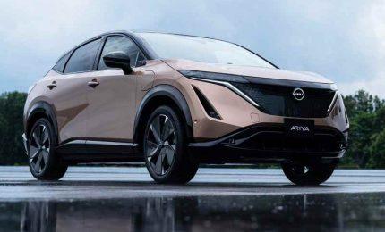 "Nissan lancia Ariya, crossover coupé elettrico: ""Una nuova era"""