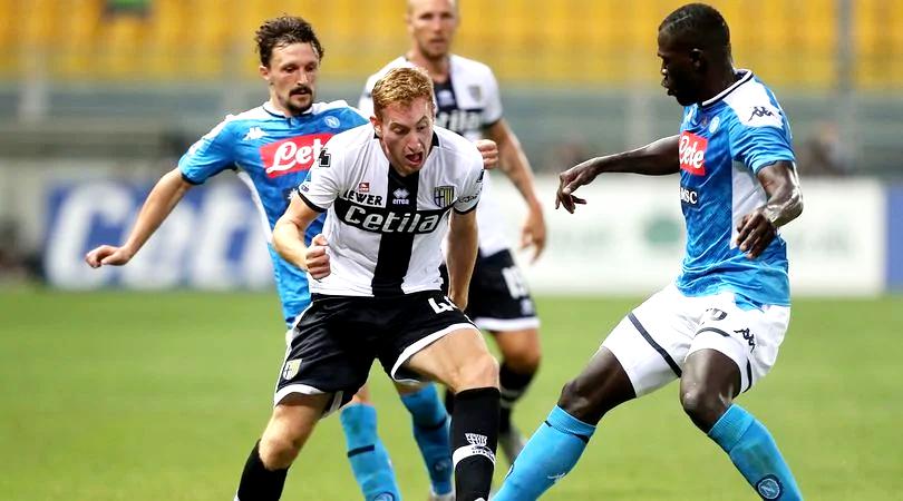 Parma-Napoli 2-1, al Tardini la decidono tre rigori