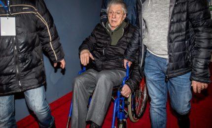 """Umberto Bossi ricoverato in ospedale: """"Non è grave"""""""