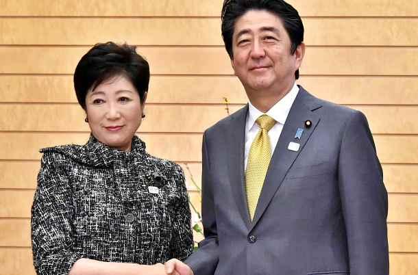 Con vittoria a Tokyo, Koike sogna di essere l'anti-Abe