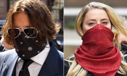 Johnny Depp e Amber Heard in tribunale per ultimo giorno processo